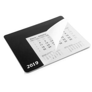 tappetino mouse calendario